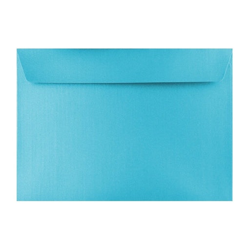 C5 Pearlescent Baby Blue 120gsm Peel & Seal Envelopes [Qty 250] 162 x 229mm