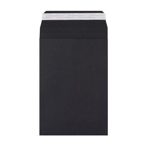 C5 Black Gusset 180gsm Envelopes [Qty 200] 162 x 229 x 25mm (2131325780057)