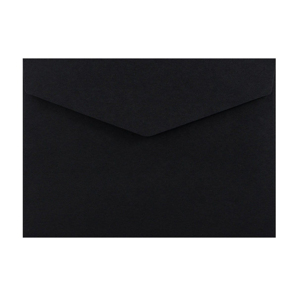 C5 Black V Flap Peel & Seal Envelopes [Qty 250] 162 x 229mm (2131379781721)