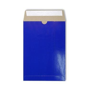 C5 Blue Gloss 350gsm All Board Envelopes [Qty 100] 162 x 235mm