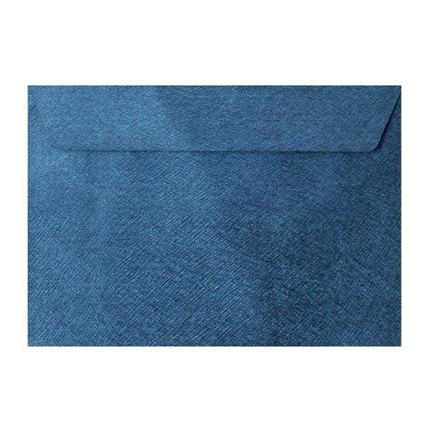 C5 Royal Blue Textured 120gsm Peel & Seal Envelopes [Qty 250] 162 x 229mm