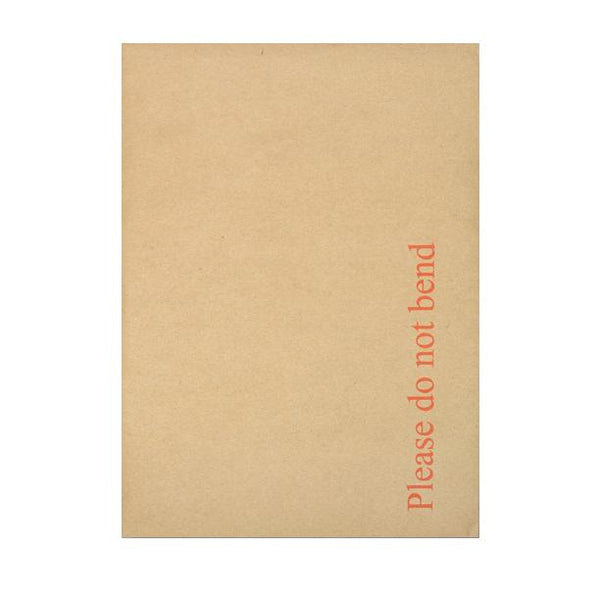 C5 (A5) Board Back Envelopes - Please Do Not Bend [Qty 125] 162 x 229mm