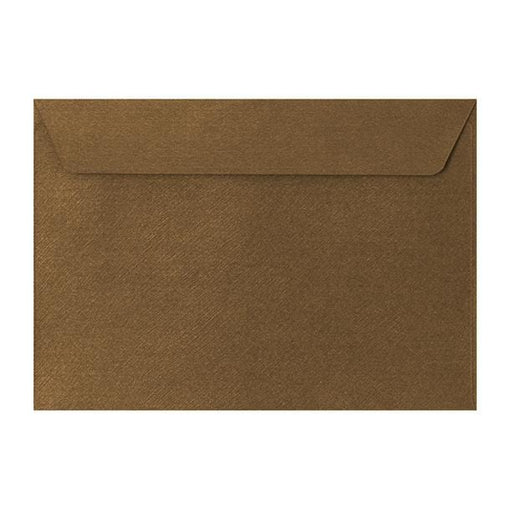 C5 Bronze Textured 120gsm Peel & Seal Envelopes [Qty 250] 162 x 229mm