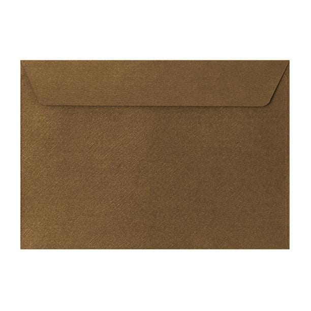 C5 Bronze Textured 120gsm Peel & Seal Envelopes [Qty 250] 162 x 229mm (2131076841561)