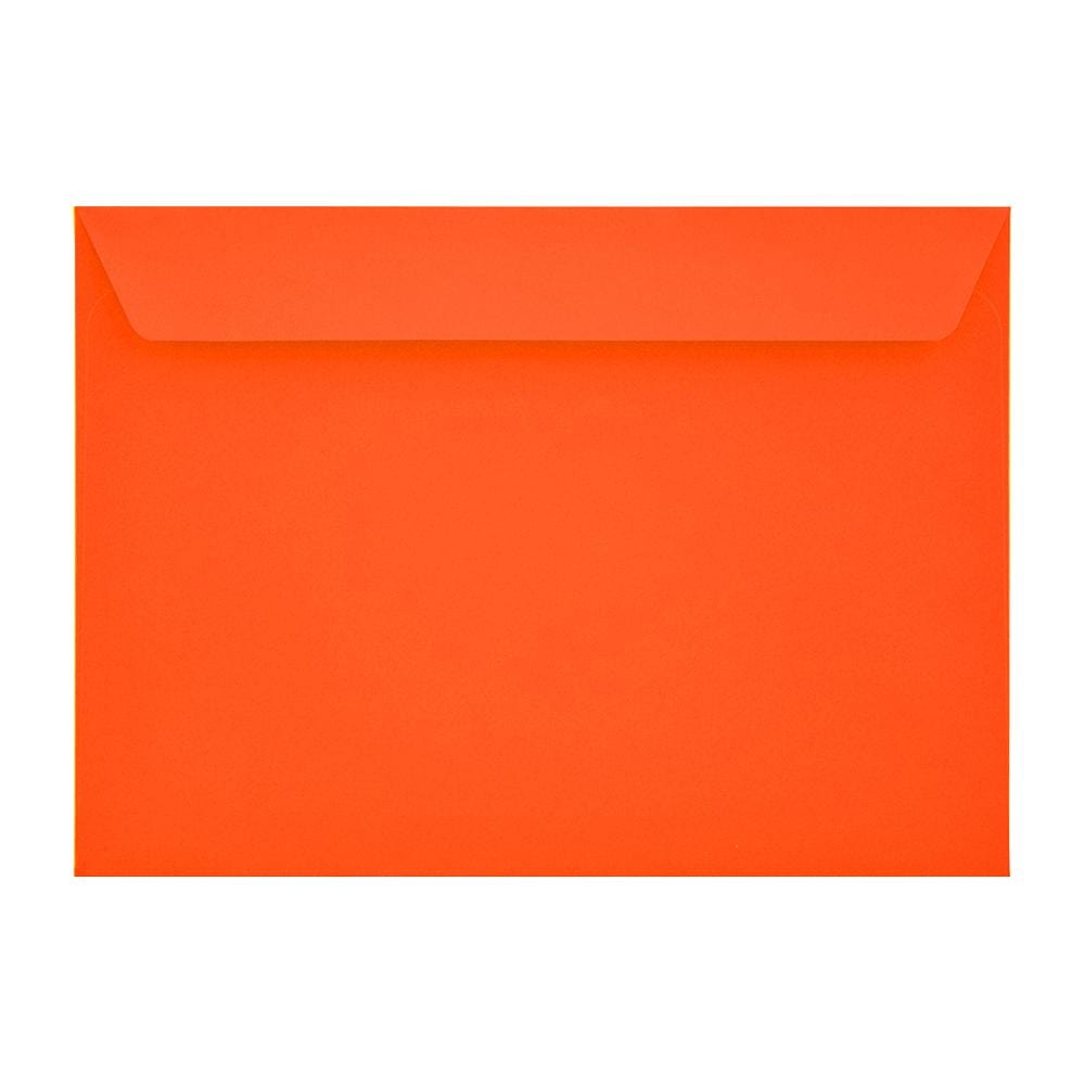 C5 Sunset Orange 120gsm Peel & Seal Envelopes [Qty 250] 162 x 229mm (2131095781465)