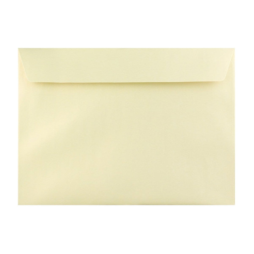 C4 Pearlescent Champagne 120gsm Peel & Seal Envelopes [Qty 125] 229 x 324mm (2131253330009)