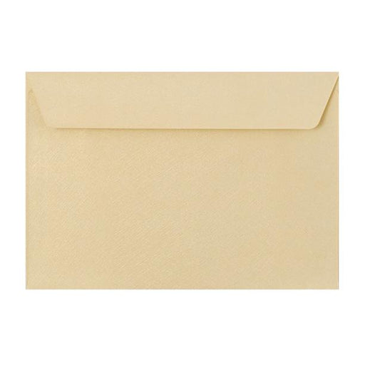 C5 Champagne Textured 120gsm Peel & Seal Envelopes [Qty 250] 162 x 229mm