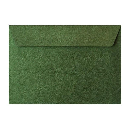 C5 Forest Green Textured 120gsm Peel & Seal Envelopes [Qty 250] 162 x 229mm