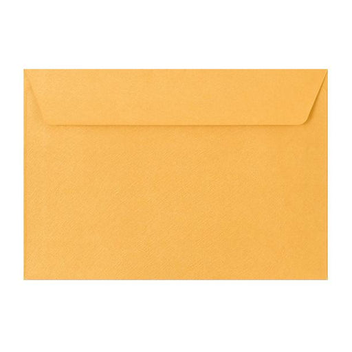 C5 Gold Textured 120gsm Peel & Seal Envelopes [Qty 250] 162 x 229mm