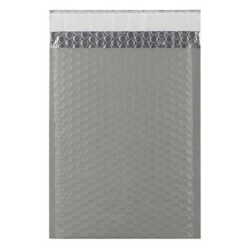 C5+ Grey Matt Padded Bubble Envelopes [Qty 100] 180mm x 250mm