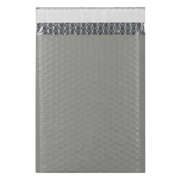C5+ Grey Matt Padded Bubble Envelopes [Qty 100] 180mm x 250mm (2131349569625)