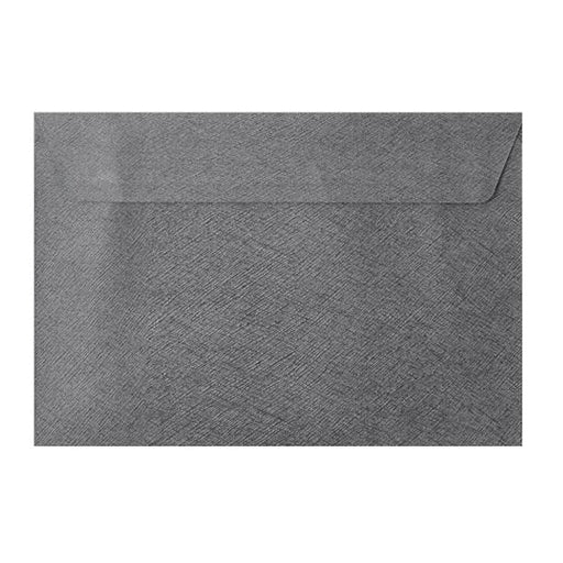C5 Grey Textured 120gsm Peel & Seal Envelopes [Qty 250] 162 x 229mm