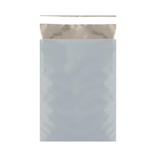 C5+ Matt Ice Blue Metallic Foil Bags [Qty 250] 180 x 250mm