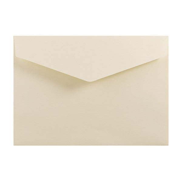 C5 Ivory V Flap Peel & Seal Envelopes [Qty 250] 162 x 229mm (2131378765913)