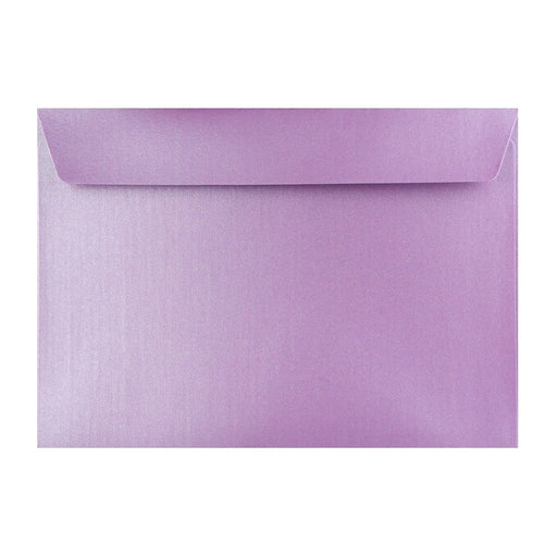 C4 Pearlescent Lavender 120gsm Peel & Seal Envelopes [Qty 125] 324 x 229mm