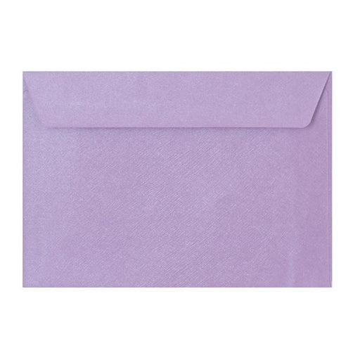 C5 Lilac Textured 120gsm Peel & Seal Envelopes [Qty 250] 162 x 229mm (2131077431385)