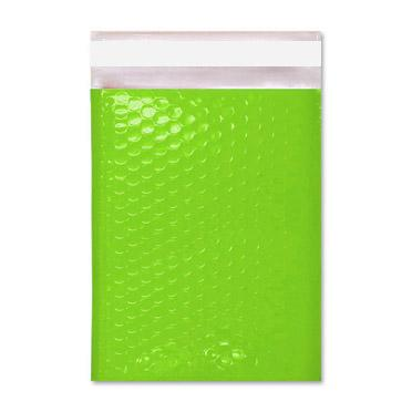 C5+ Lime Gloss Green Padded Bubble Envelopes [Qty 100] 180mm x 250mm (2167702323289)