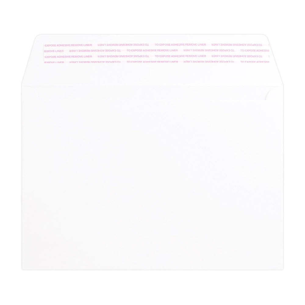 C5 White Luxury Wallet 180gsm Peel & Seal Envelopes [Qty 250] 162 x 229mm