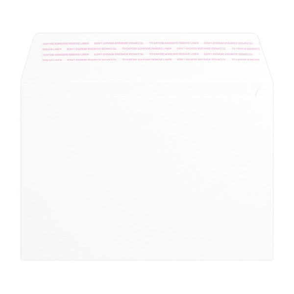 C5 White Luxury Wallet 180gsm Peel & Seal Envelopes [Qty 250] 162 x 229mm (2131065405529)
