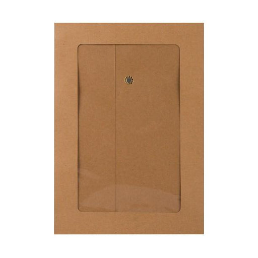 C5 Manilla String & Washer Window Envelopes [Qty 100] 229 x 162mm