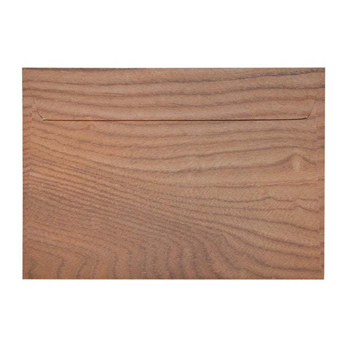 C5 Polished Oak 135gsm Peel & Seal Envelopes [Qty 125] 162 x 229mm (2131114590297)