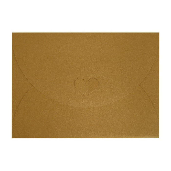 C5 Pure Gold Butterfly Envelopes [Qty 50] 162 x 229mm (2131344064601)