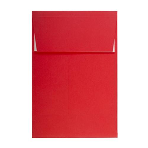 C4 Red Gusset 160gsm Peel & Seal Envelopes [Qty 200] 324 x 229 x 25mm