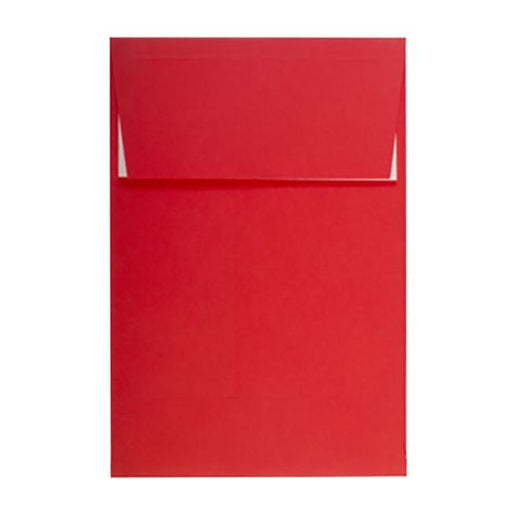 C5 Red Gusset 140gsm Peel & Seal Envelopes [Qty 125] 162 x 229mm