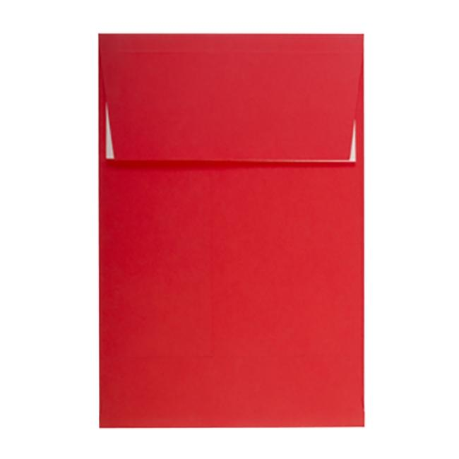 C5 Red Gusset 140gsm Peel & Seal Envelopes [Qty 125] 162 x 229mm (2131191300185)