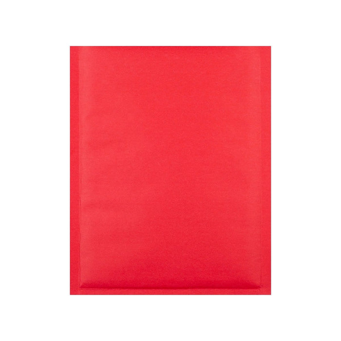 C5+ Matt Red Padded (Paper Finish) Bubble Envelopes [Qty 100] 180 x 250mm (2131285147737)