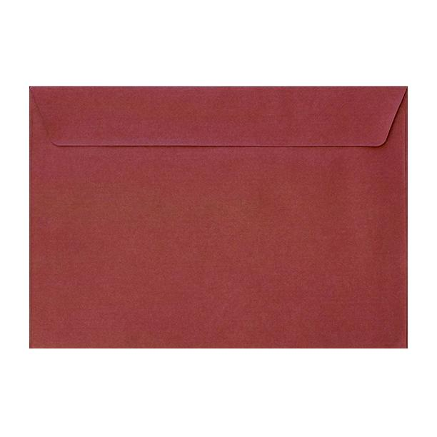 C5 Red Textured 120gsm Peel & Seal Envelopes [Qty 250] 162 x 229mm (2131077660761)