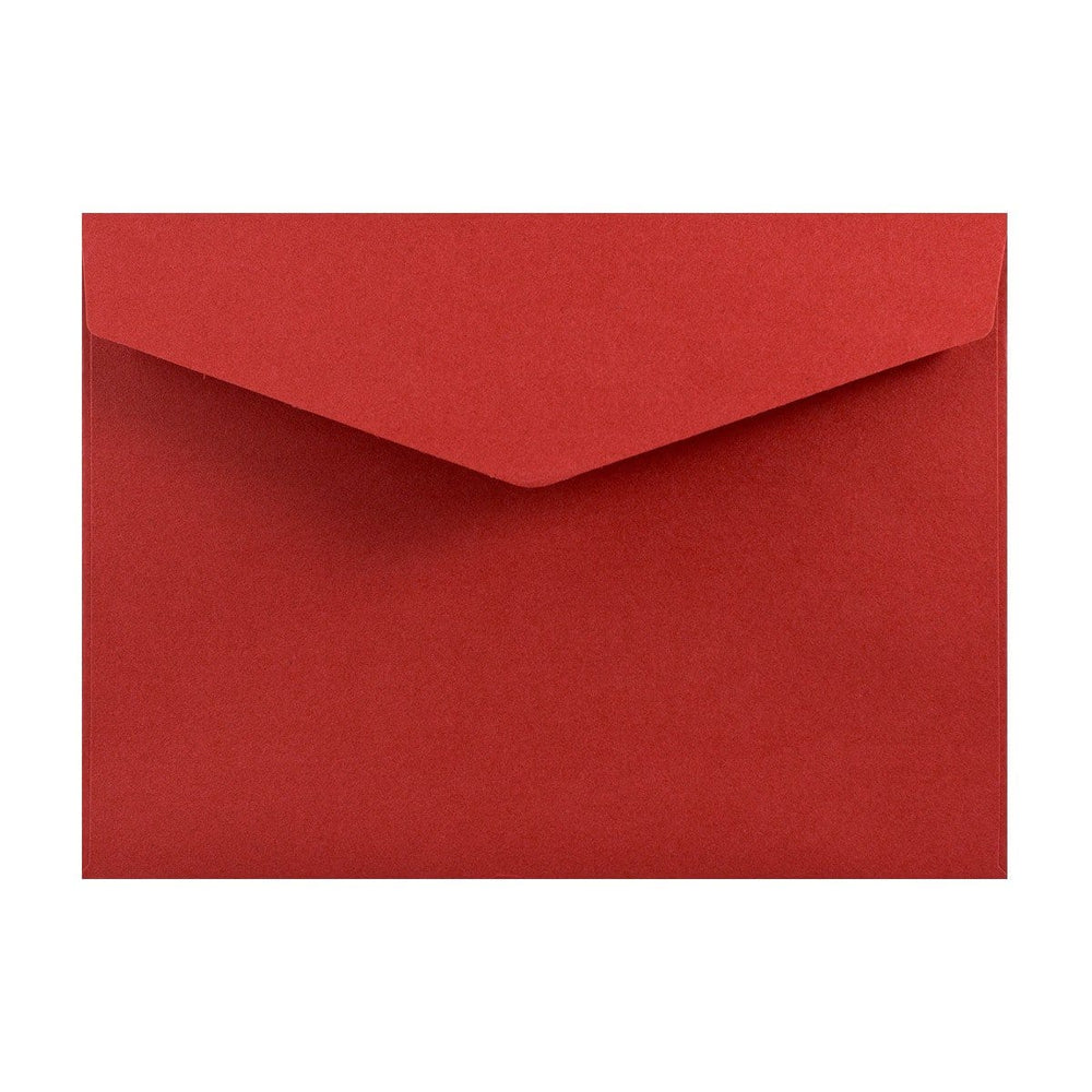 C5 Red V Flap Peel & Seal Envelopes [Qty 250] 162 x 229mm