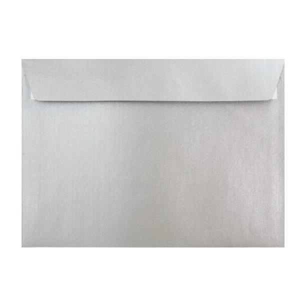 C5 Metallic Silver 120gsm Peel & Seal Envelopes [Qty 250] 162 x 229mm