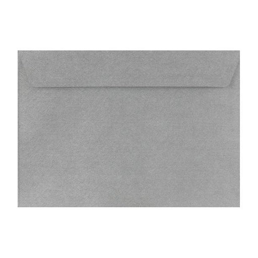 C5 Silver Textured 120gsm Peel & Seal Envelopes [Qty 250] 162 x 229mm