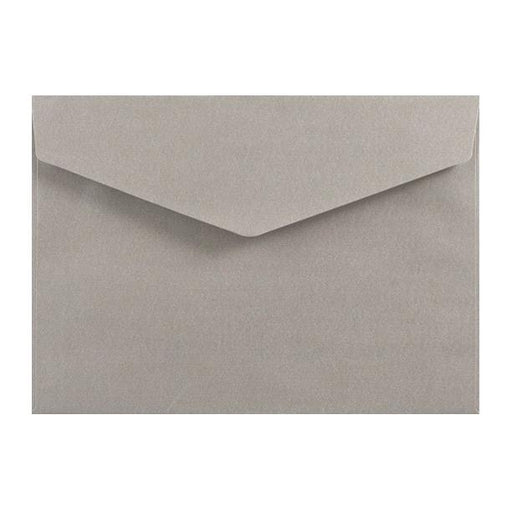 C5 Metallic Silver 120gsm V Flap Envelopes [Qty 250] 162mm x 229mm
