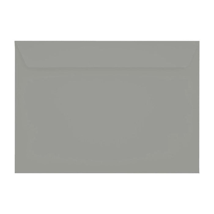 C5 Storm Grey 120gsm Peel & Seal Envelopes [Qty 250] 162 x 229mm
