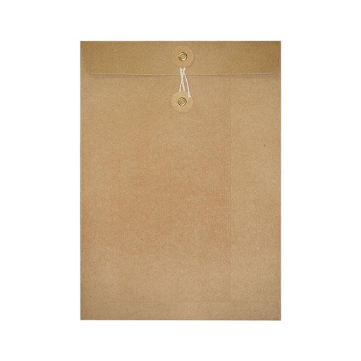 C5 Manilla String & Washer Envelopes [Qty 100] 229 x 162mm