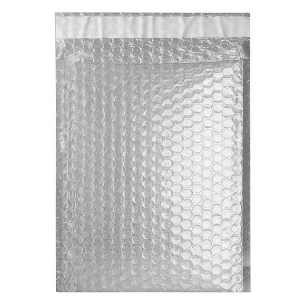 C5+ Translucent Metallic Padded Bubble Envelopes [Qty 100] 180mm x 250mm