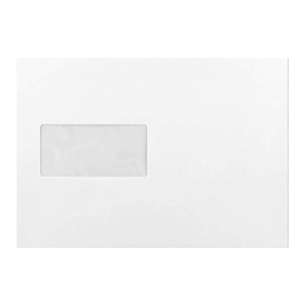 C5 White Prestige Laid Window 120gsm Peel & Seal Envelopes [Qty 500] 162 x 229mm (2131261587545)