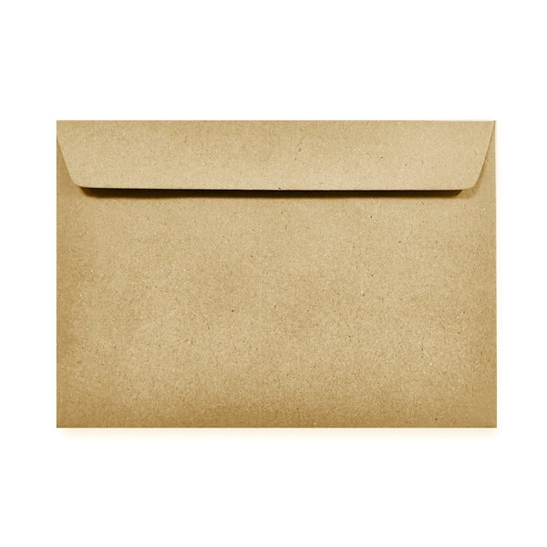 C5 Recycled Kraft Fleck 110gsm Peel & Seal Envelopes [Qty 250] 162mm x 229mm (2131456720985)