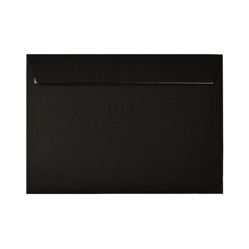 C6 Black Envelopes to Fit A6 120gsm Peel & Seal [Qty 250] 114 x 162mm