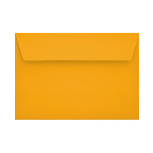 C6 Bright Gold 120gsm Peel & Seal Envelopes [Qty 250] 114 x 162mm
