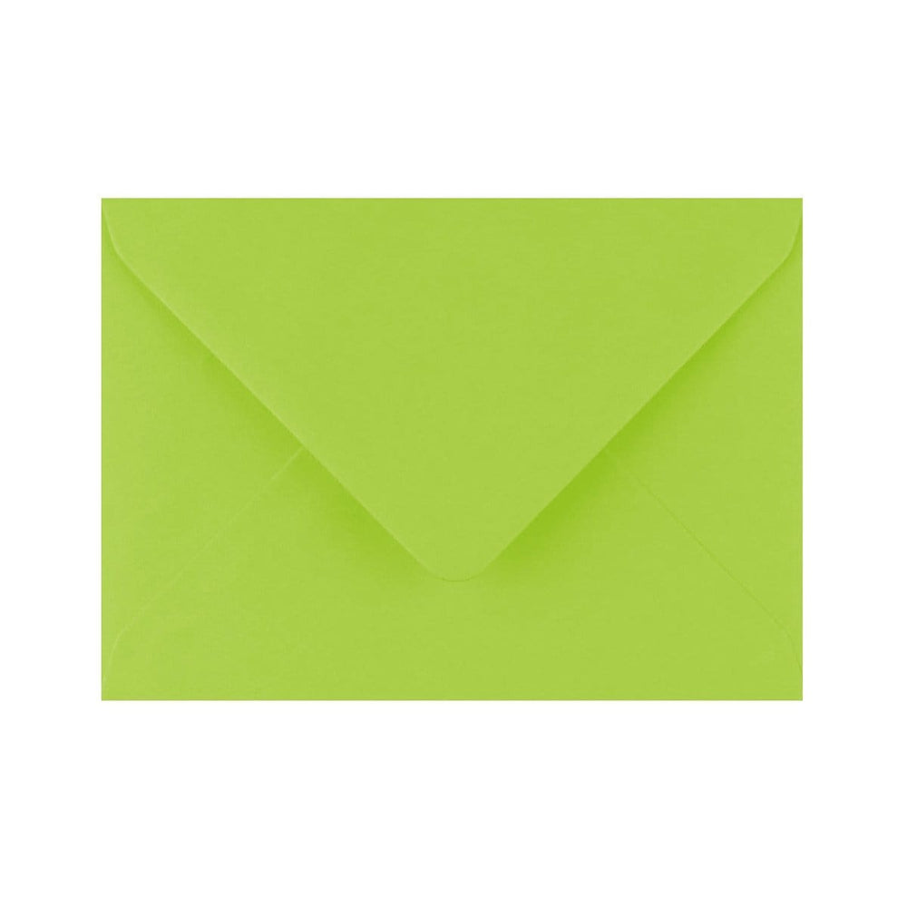 C6 Bright Green Gummed Diamond Flap Greeting Envelopes [Qty 1,000] 114 x 162mm (2131125764185)