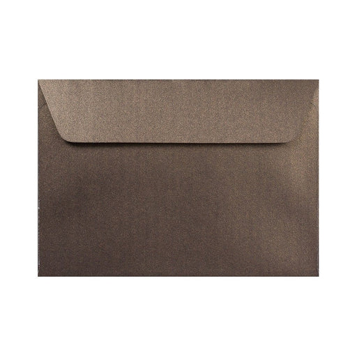 C6 Pearlescent Bronze 120gsm Peel & Seal Envelopes [Qty 250] 114 x 162mm