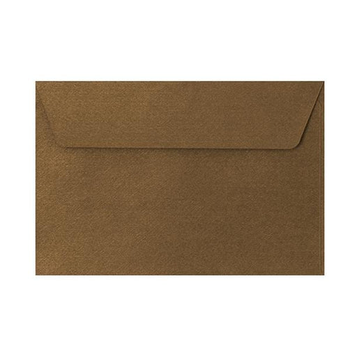 C6 Bronze Textured 120gsm Peel & Seal Envelopes [Qty 250] 114 x 162mm