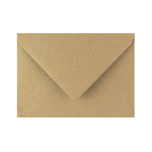 C6 Brown Fleck Gummed Diamond Flap Greeting Envelopes [Qty 1,000] 114 x 162mm (2131127402585)