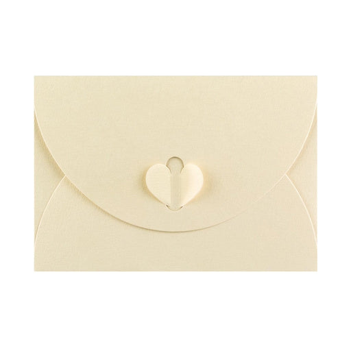 C6 Champagne Ivory Butterfly Envelopes [Qty 50] 114 x 162mm (2131390693465)