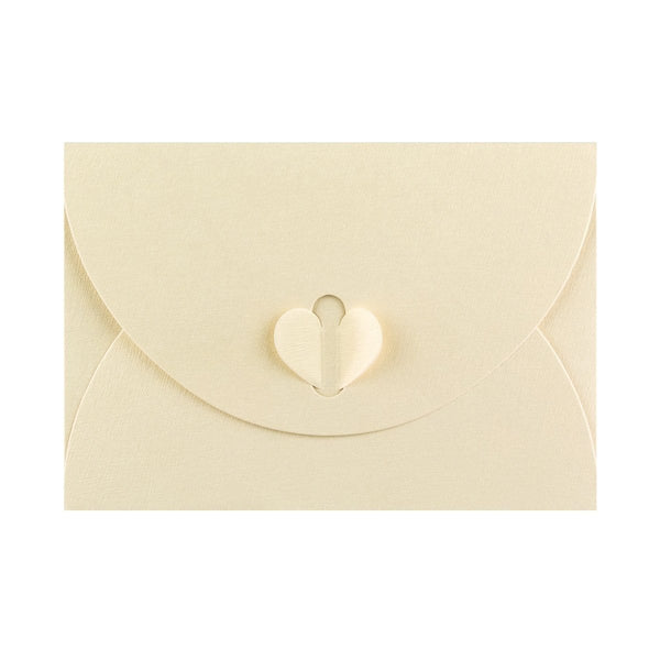 C6 Champagne Ivory Butterfly Envelopes [Qty 50] 114 x 162mm