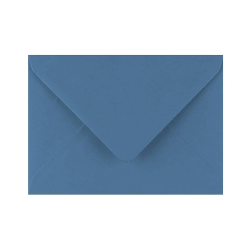 C6 China Blue Gummed Diamond Flap Greeting Envelopes [Qty 1,000] 114 x 162mm
