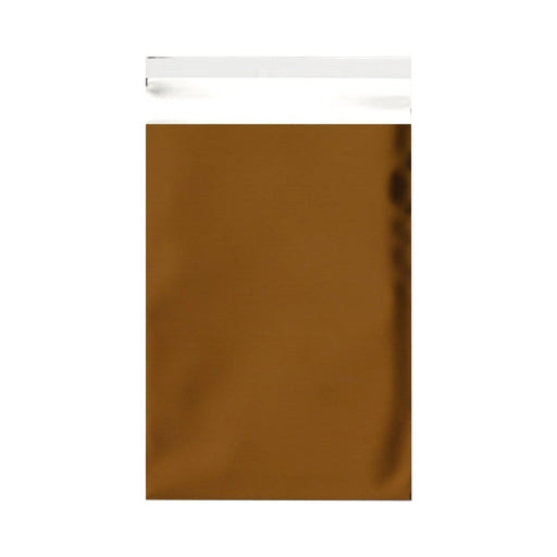 C6 Matt Gold Foil Postal Envelopes / Bags [Qty 250] 114 x 162mm